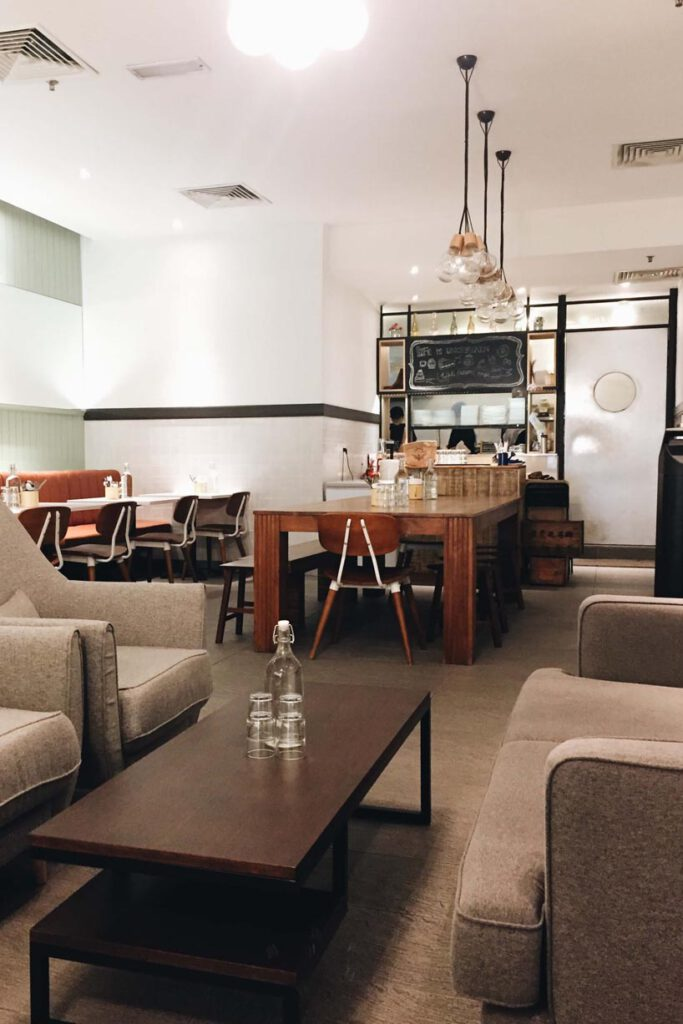 Lids and Finch best cafés in Kuala Lumpur