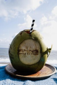 Coconut at the Finn's Beach Club Changgu