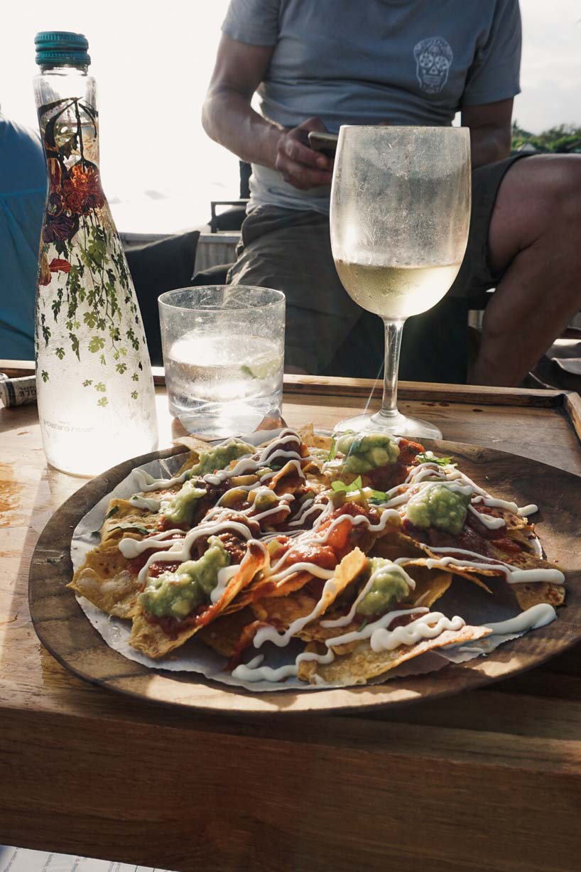Nachos at Finn's - best restaurants in Bali