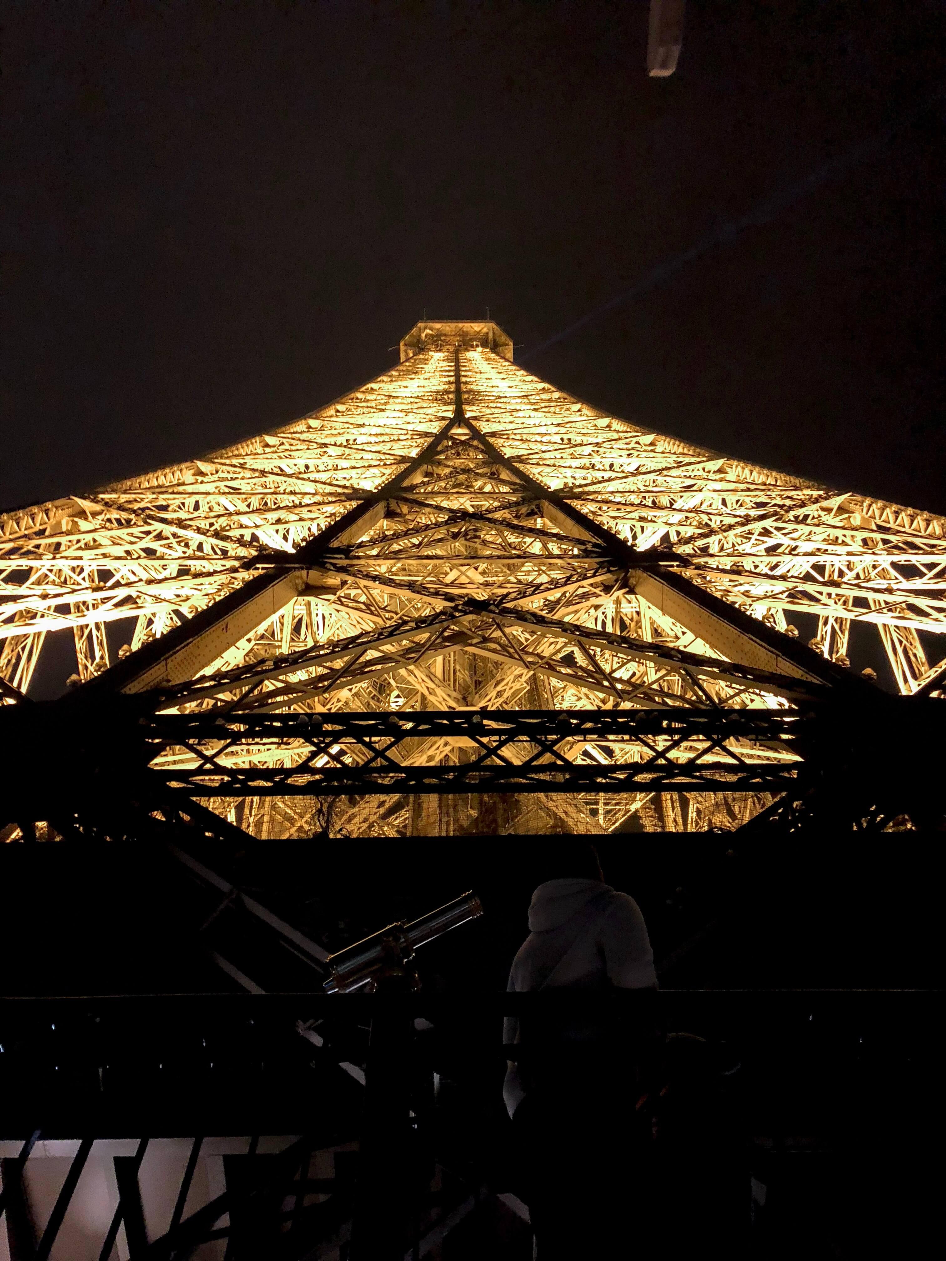 Be on Top of the Eifel Tower - La Vie En Marine