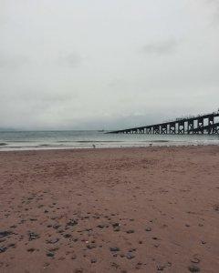 Minimalism. A beach in Wales captured in a minimalistic style. La Vie En Marine
