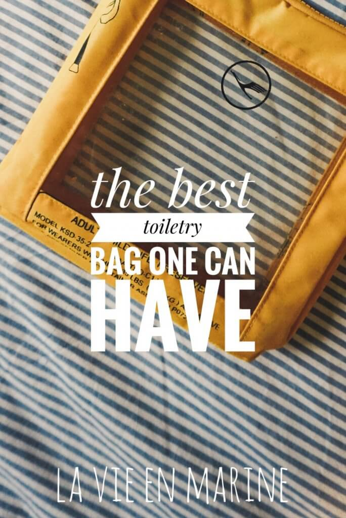The Only Cosmetic Bag You Will Need - La Vie En Marine