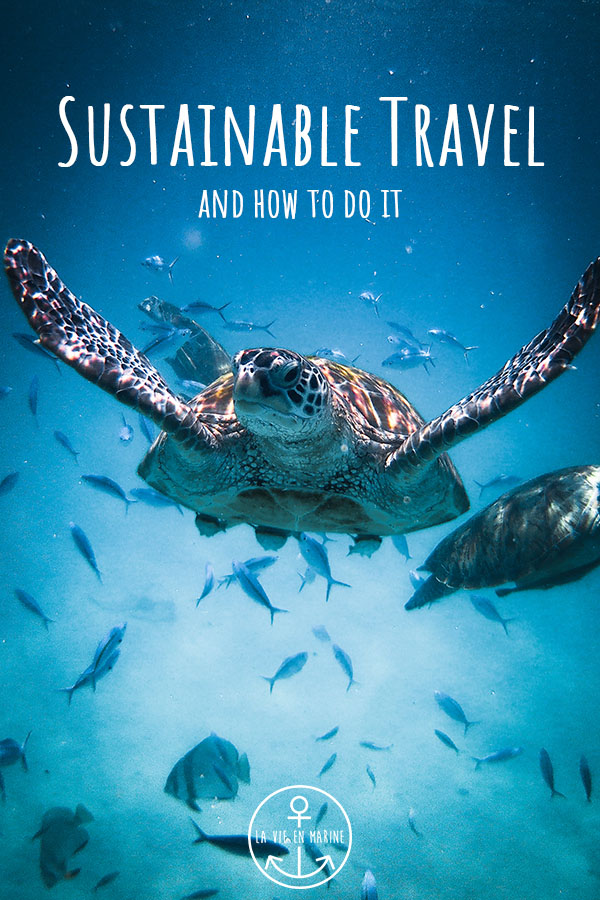 Sustainable Travel And How to do It - La Vie En Marine