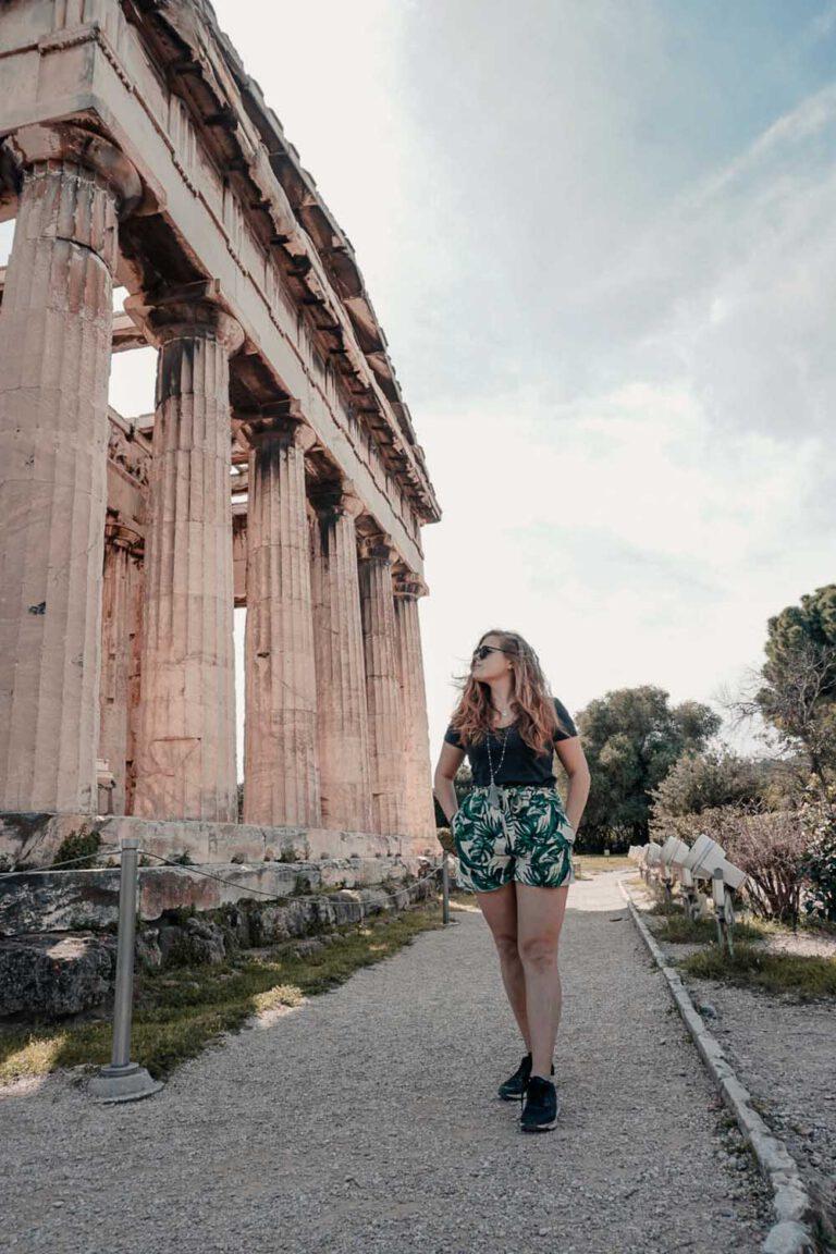 Beauties of the Temple of Hephaestus - La Vie En Marine