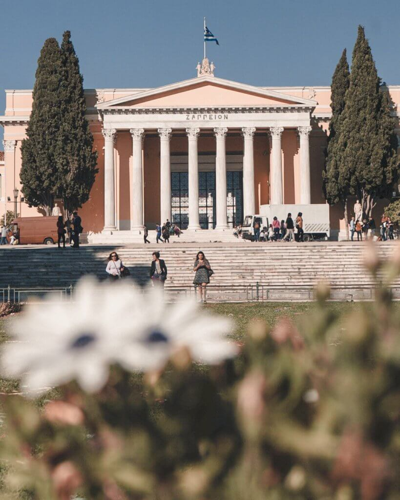 Zappeio Hall, Athens - La Vie En Marine
