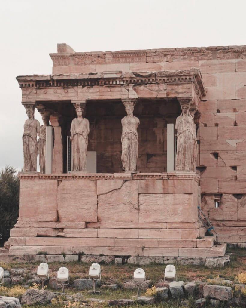 The temple Erechtheion, Acropolis, Athens - La Vie En Marine