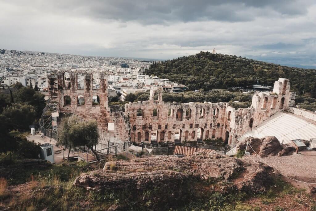 Theatre of Dionysos, Acropolis, Athens - La Vie En Marine