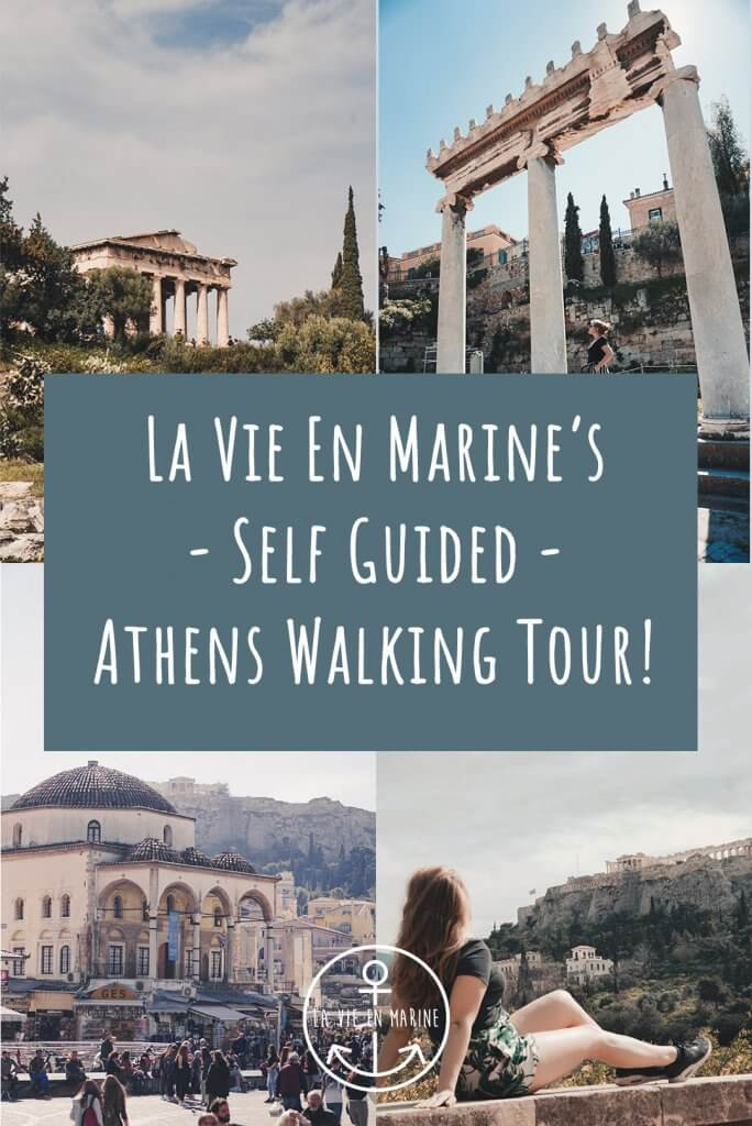 La Vie En Marine's Self Guided Athens Walking Tour