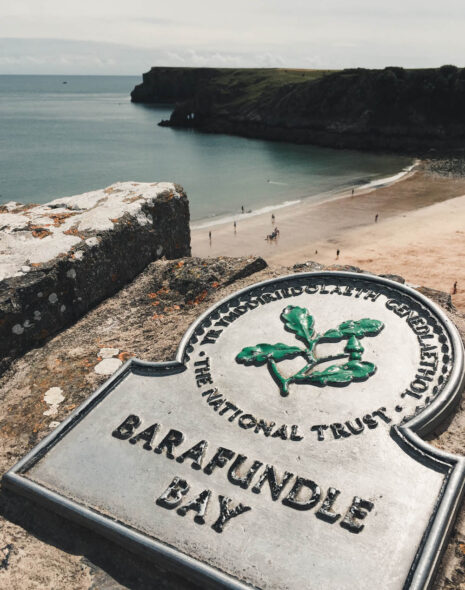 Barafundle Bay from Road Trip in South Wales
