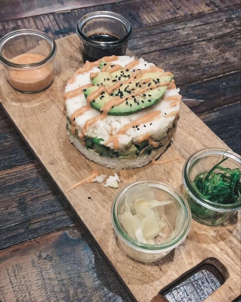 Sushi Burger by Café Buur, Food Guide Düsseldorf - La Vie En Marine