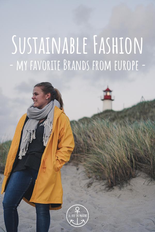 La Vie En Marine Sustainable Fashion Brands of Europe