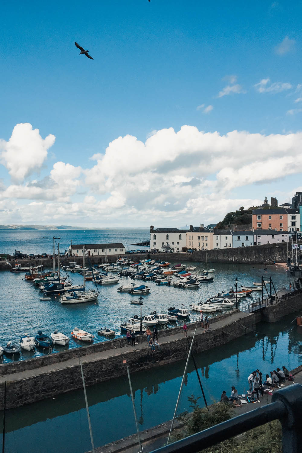 Tenby Harbour, Roadtrip in South Wales