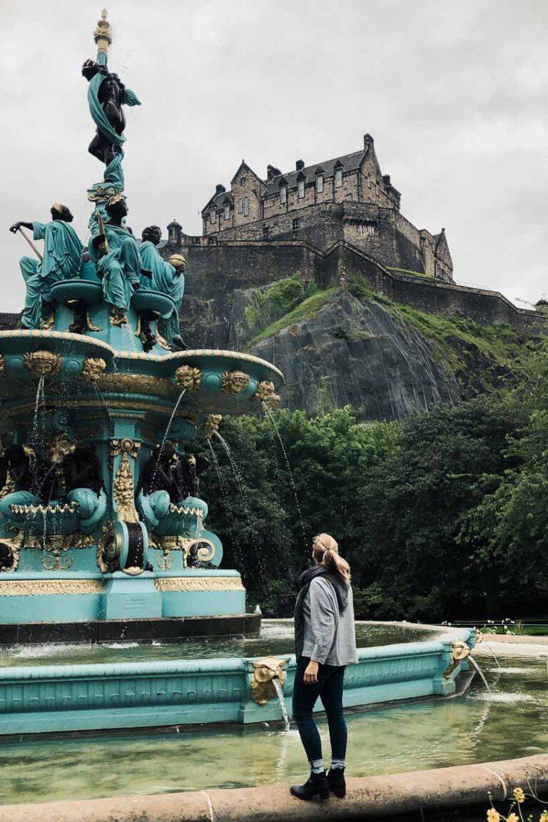Ross Fountain, Visiting Edinburgh - La VIe En Marine
