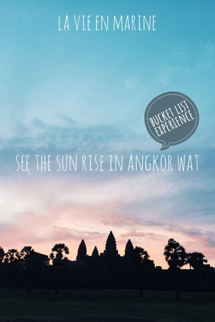 Sun Rise in Angkor Wat - La Vie En Marine