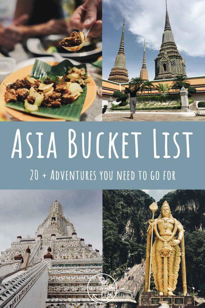 Asia Bucket List - La Vie En Marine