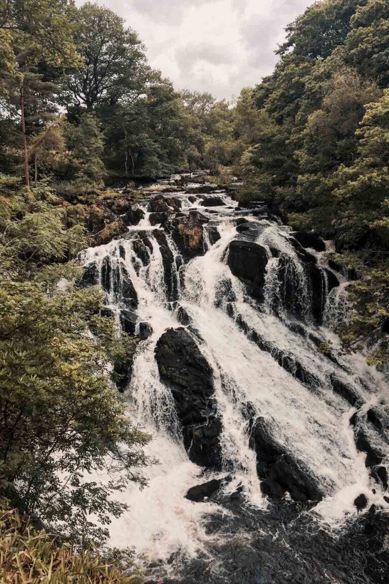 Shallow Falls, Roadtrip in North Wales -