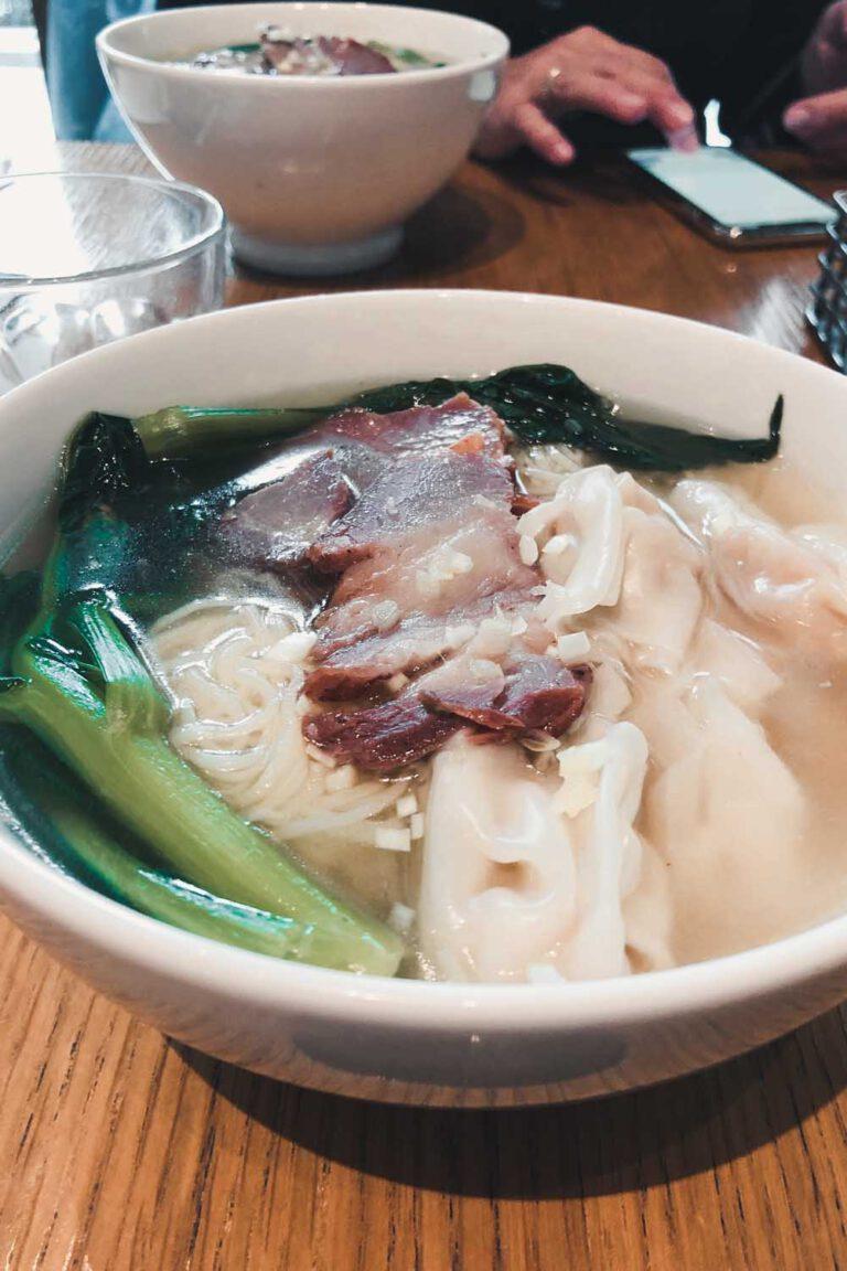 Hmmm Won Ton Soup! - La Vie En Marine