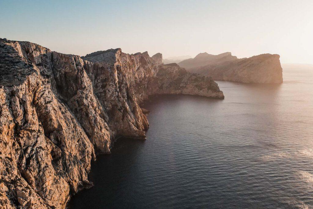 Cap de Formentor - Cliffs at Sunset