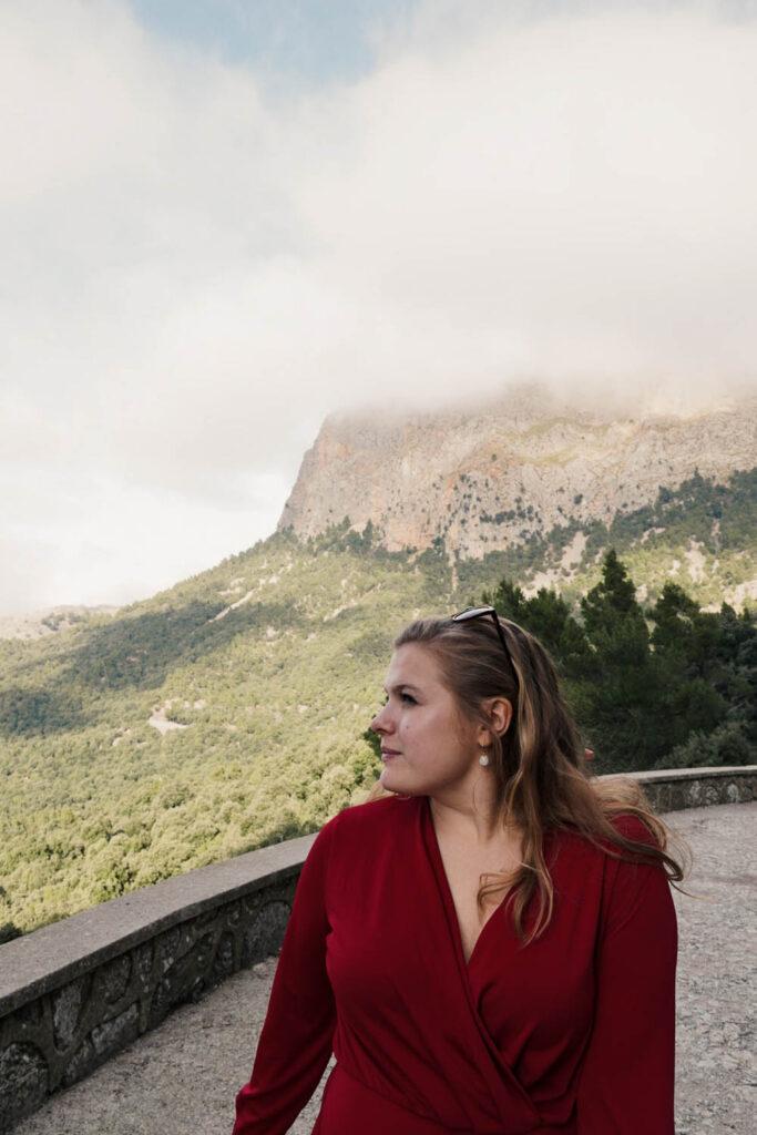 Looking Upon the serra de tramuntana