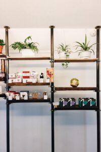 Shelf by the Nylon Coffee Roasters