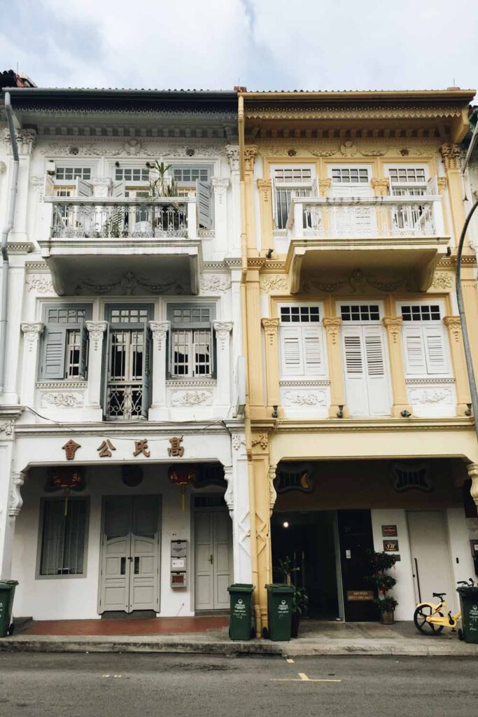 Singapore Bucket List - Colonial Styled Houses