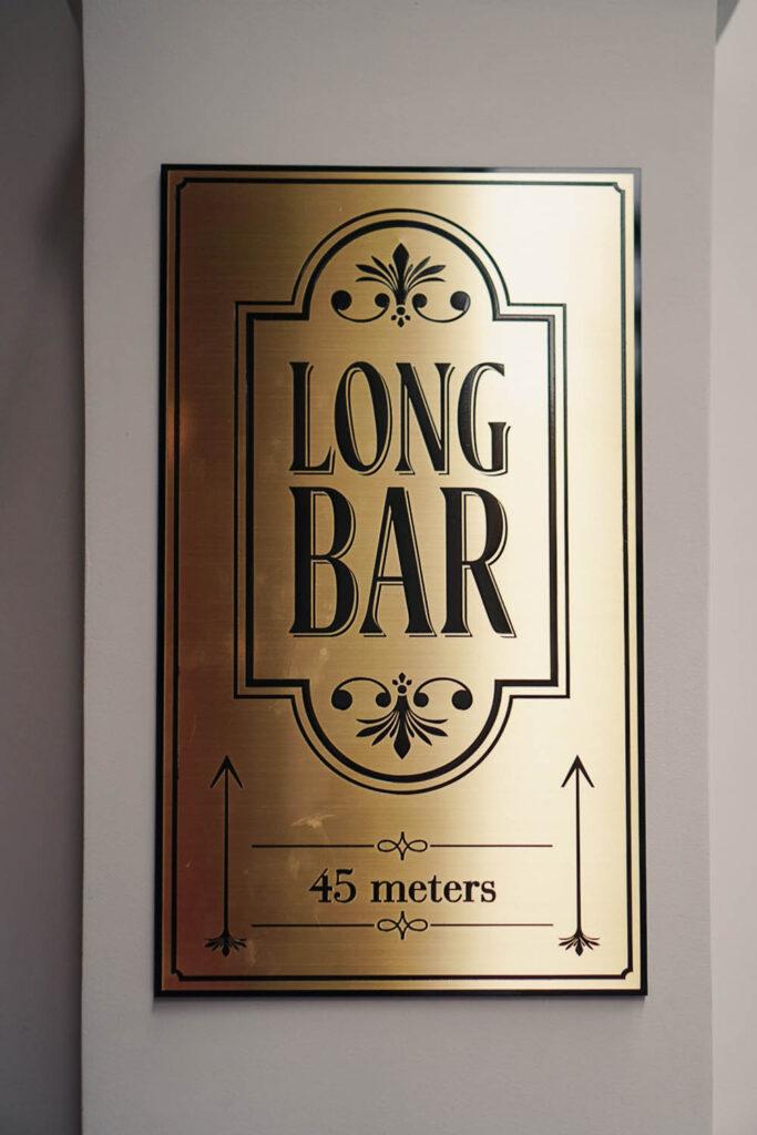 Raffles Long Bar - La Vie En Marine