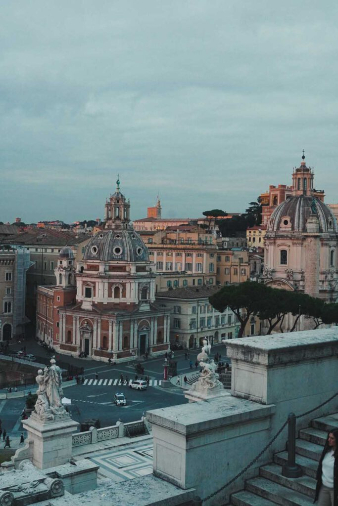Two Buildings in ROme