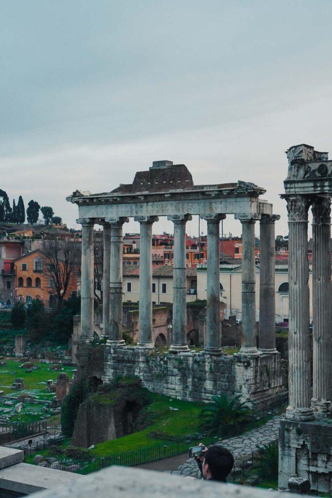 Picture of the Foro Romano