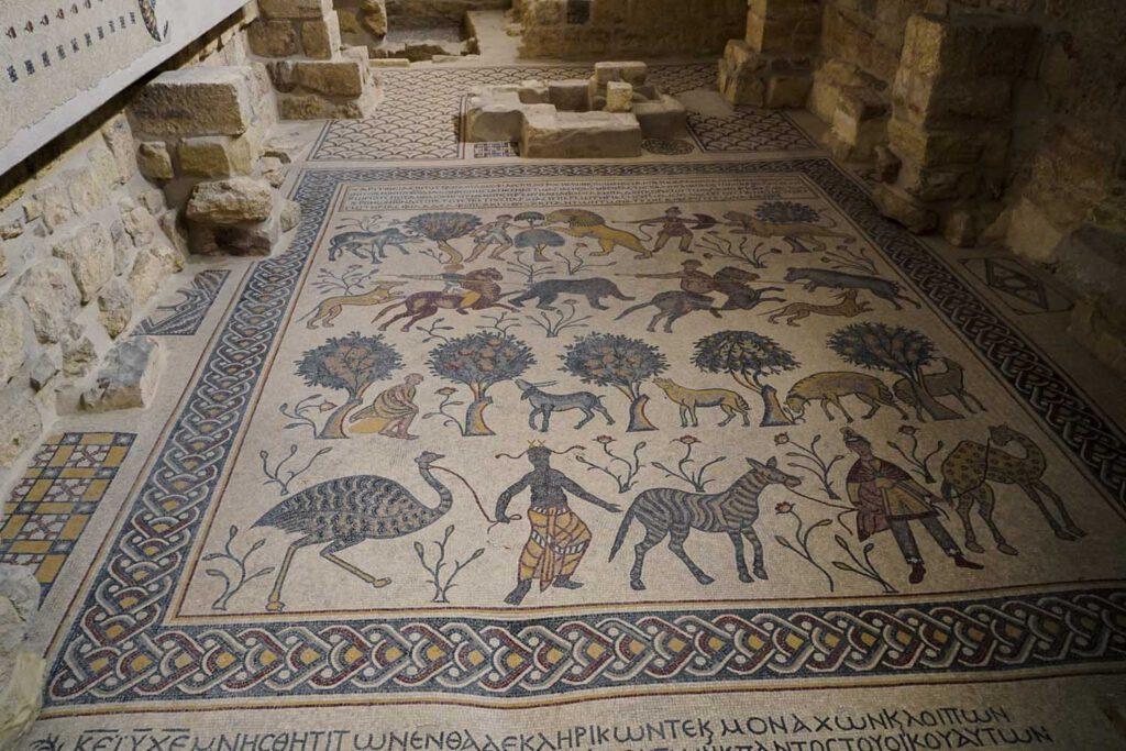 Mosaicof Church Nebo