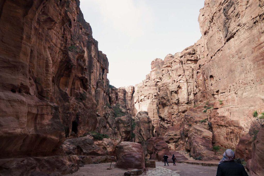 Narrow Siq Trail of Petra
