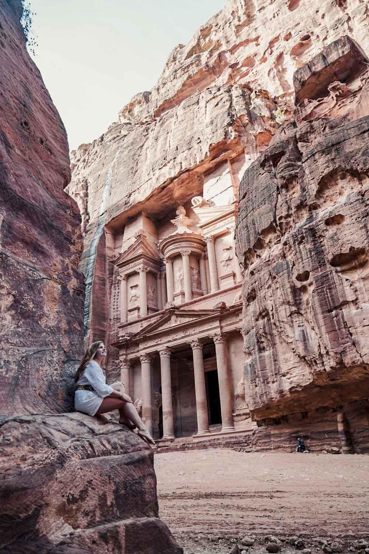 Girl in Petra