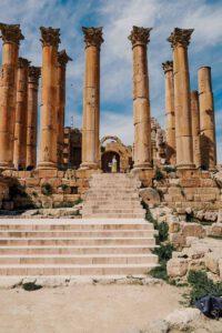 Magnificent roman / greek temple