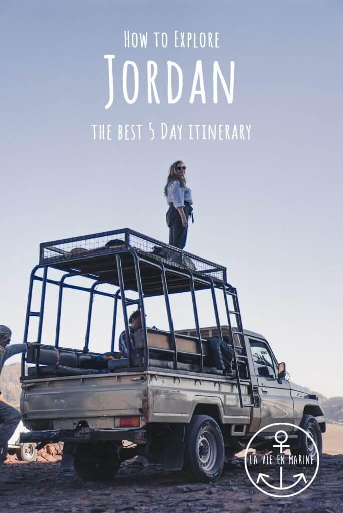 5 Day Jordan Itinerary by La Vie En Marine