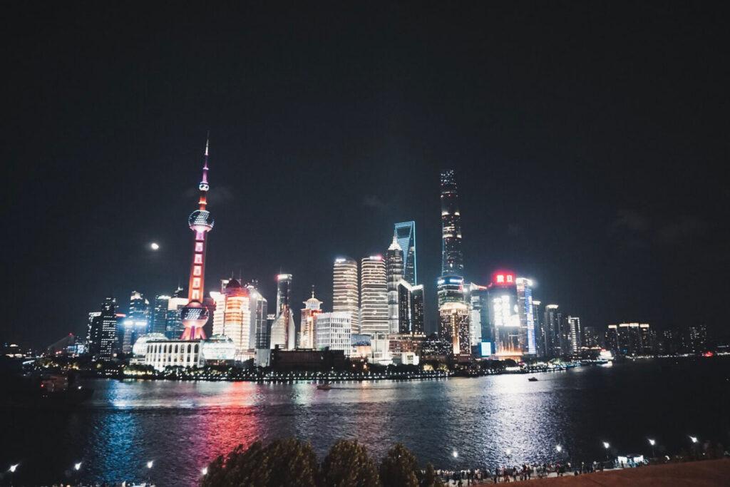 Beaming Bund, Shanghai - Asia Bucket List