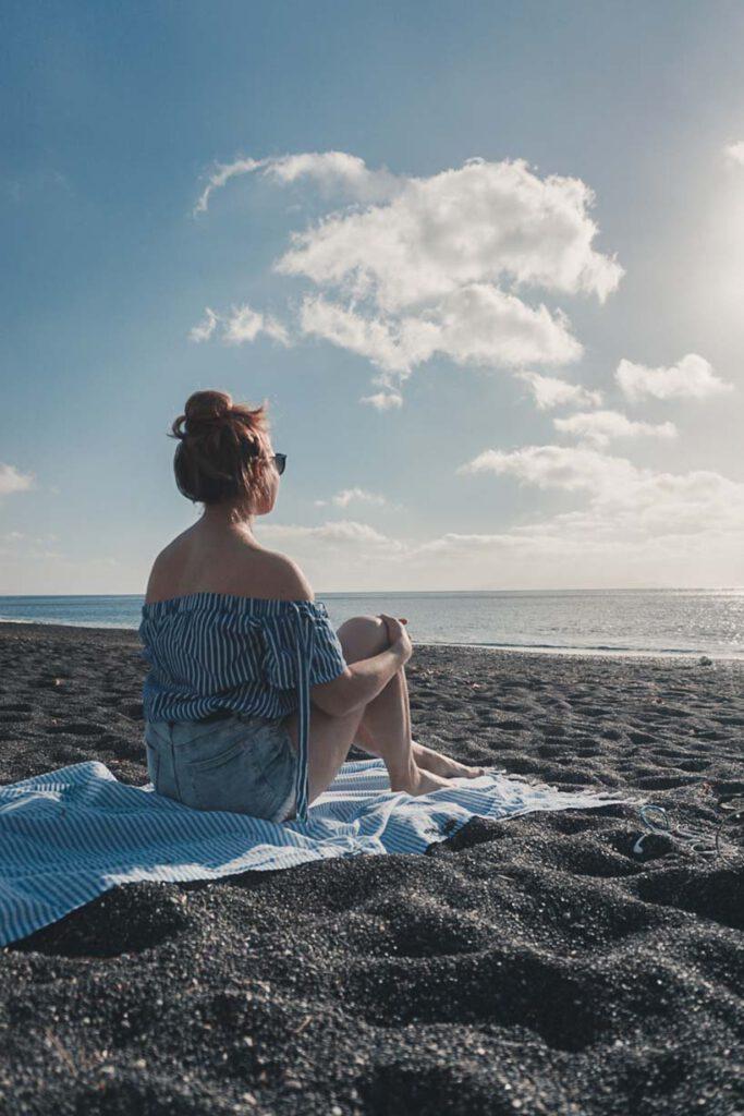 Black Sanded Beaches