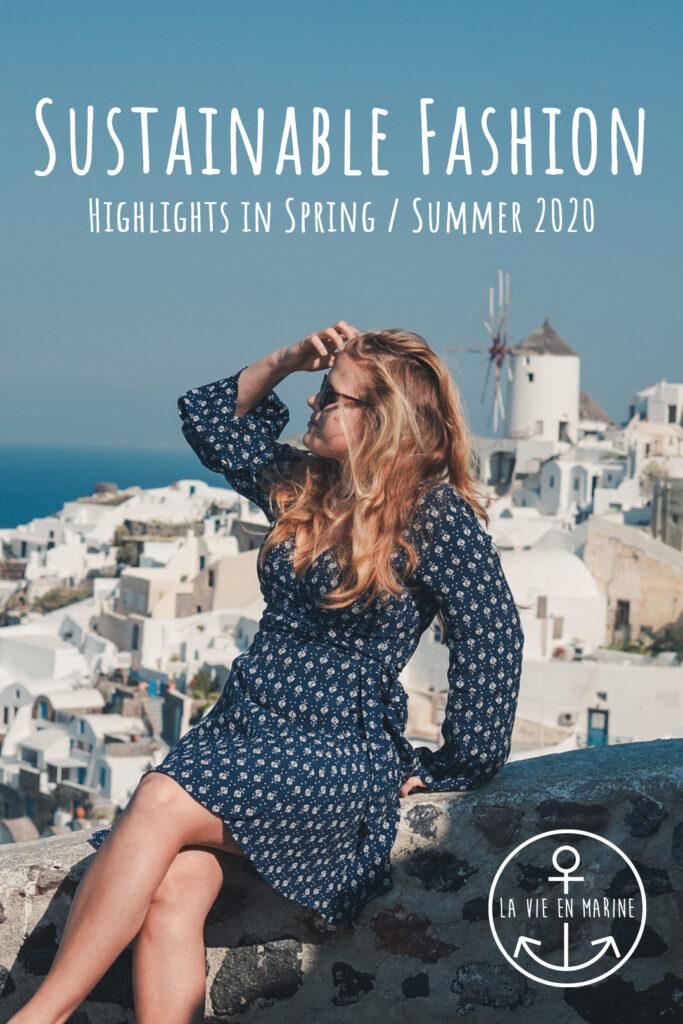 Sustainable Spring / Summer fashion - La Vie En Marine