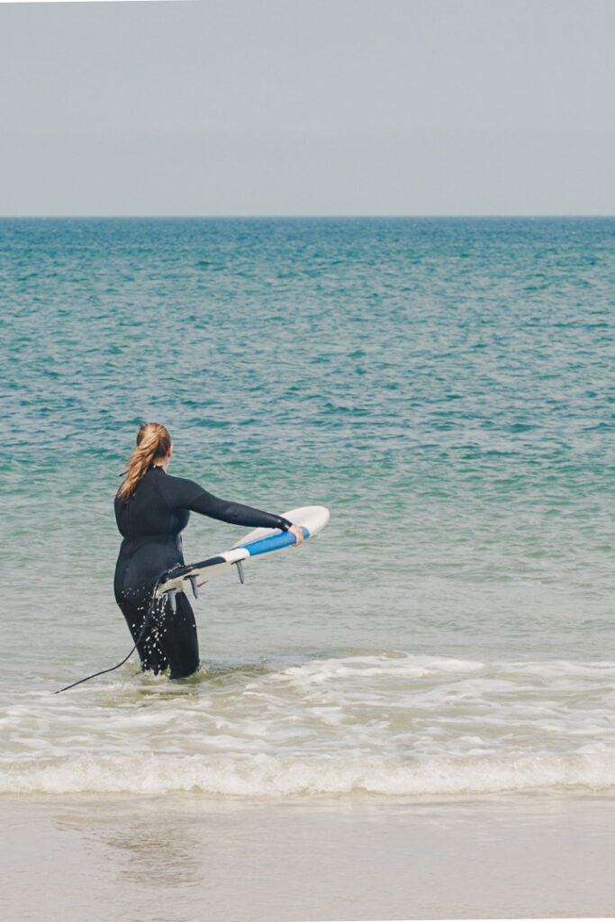 Surfing on Sylt