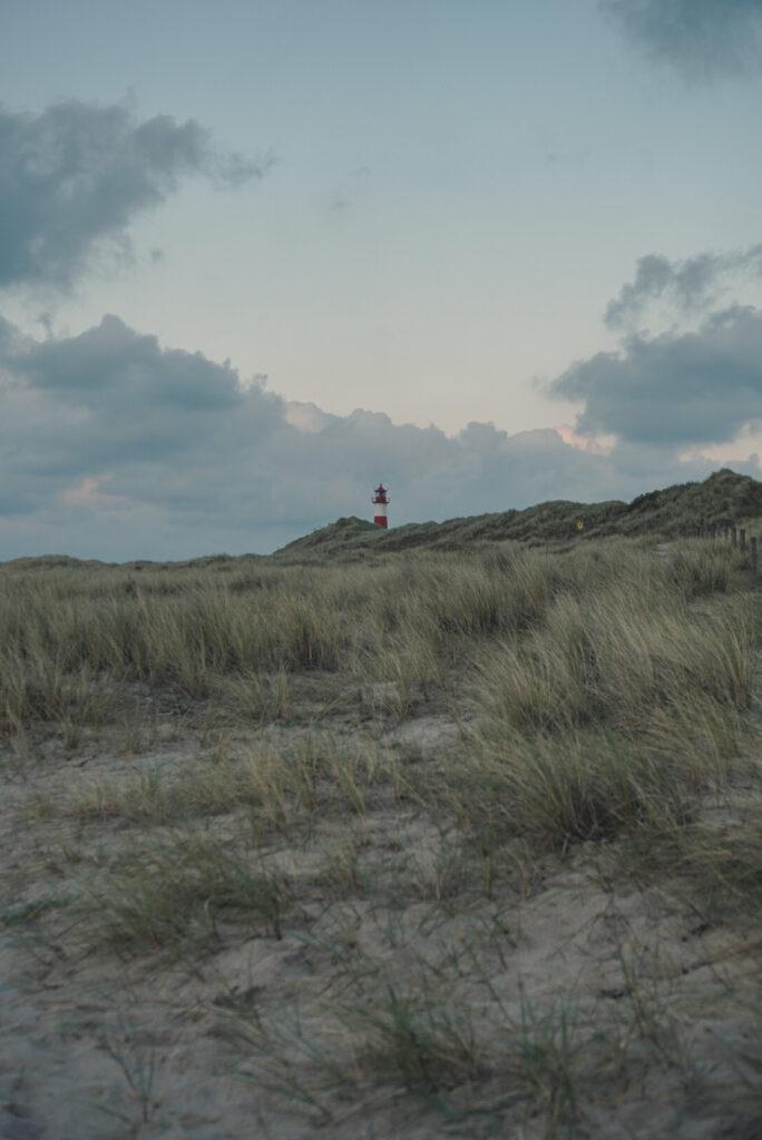 Sylt Ellenbogen Lighthouse from Afar - Explore Sylt