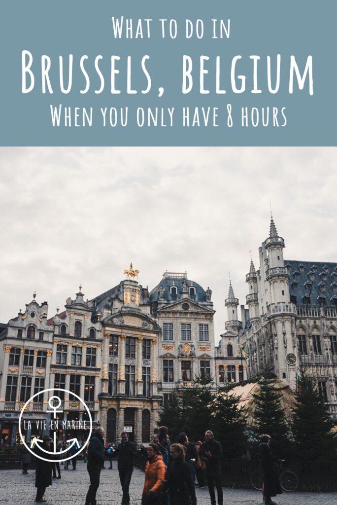 8 Hours in Brussels, Belgium - La Vie En Marine