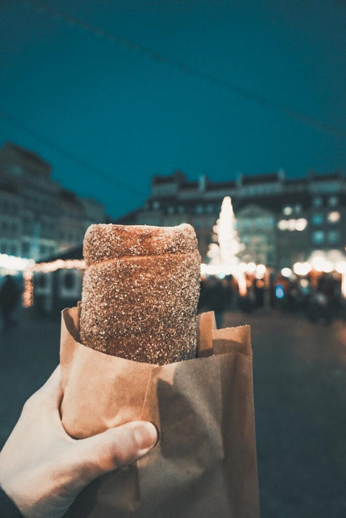 Chimney Cake in Warsaw