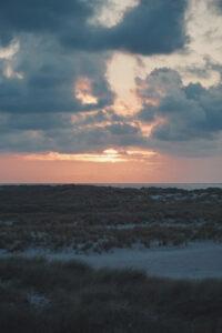 Sylt Ellenbogen Sunset