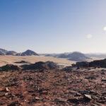 White Desert Wadi Rum Jordan
