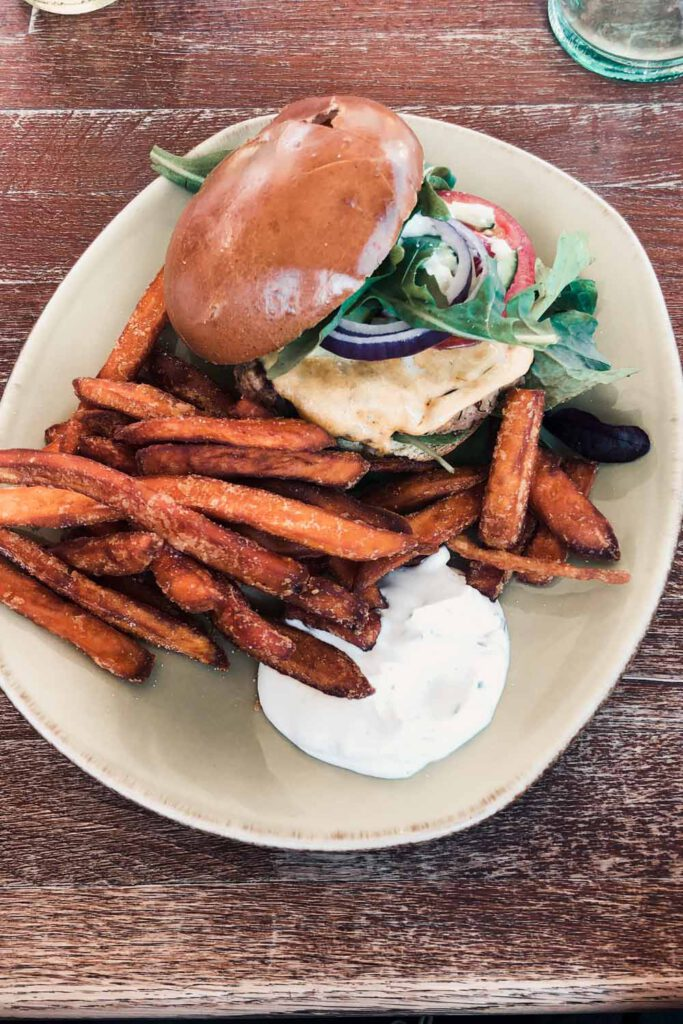 Crabby Burger from Aloha Sylt