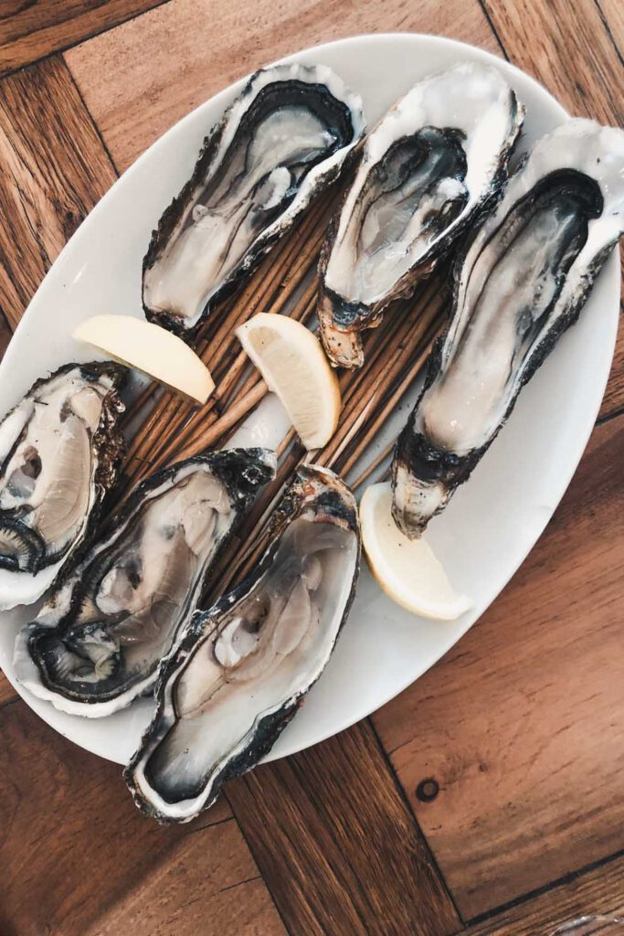 Oysters from Sylter Royal