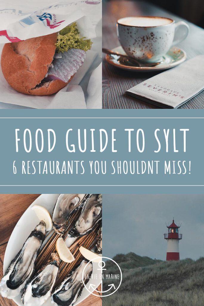 Sylt Food Guide - La Vie En Marine