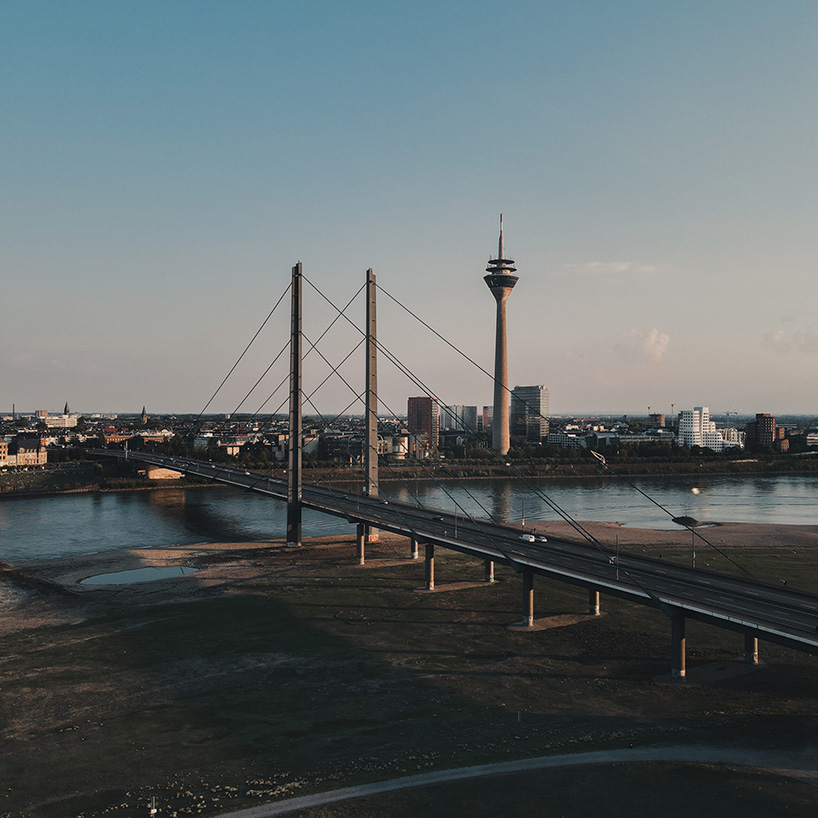 Rheinturm Düsseldorf, Germany
