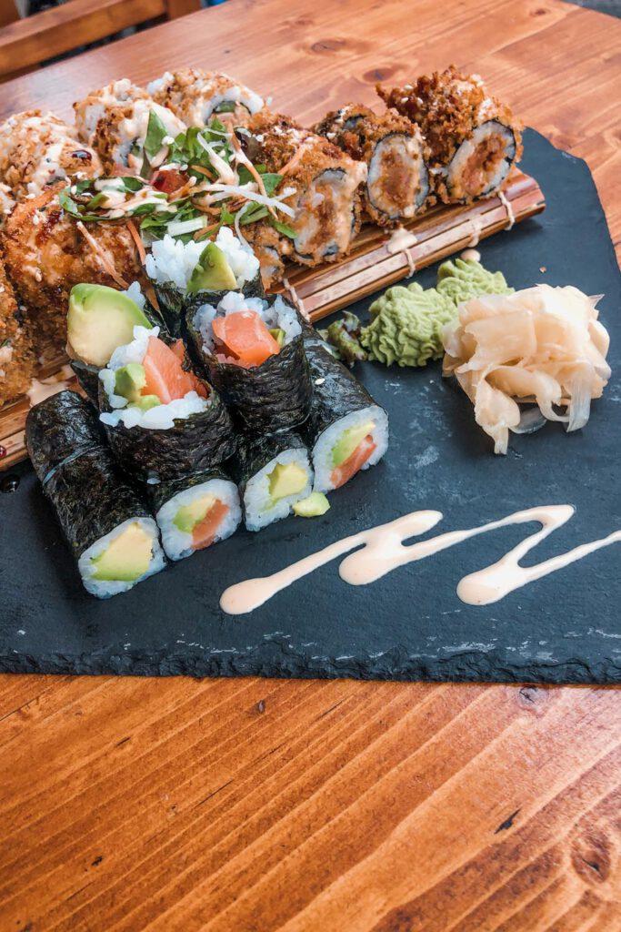 Sushi Platter by Baba Sushi Düsseldorf