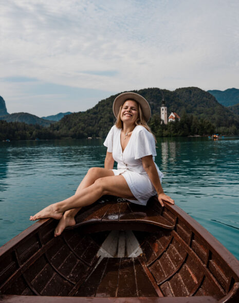 Places in Slovenia - Boat Ride at Lake Bled
