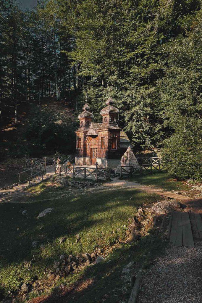 Ruska kapelica Places in Slovenia